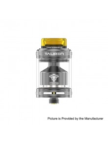 Authentic ThunderHead Creations THC Tauren Honeycomb RTA Rebuildable Tank Atomizer - Gun Metal, 4.5ml, 24mm Diameter