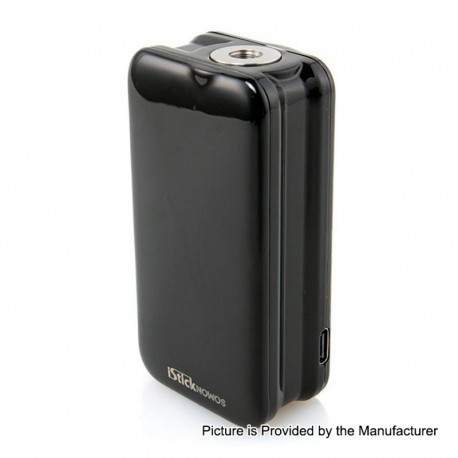 Authentic Eleaf iStick Nowos 80W 4400mAh Battery TC VW Variable Wattage Mod - Black