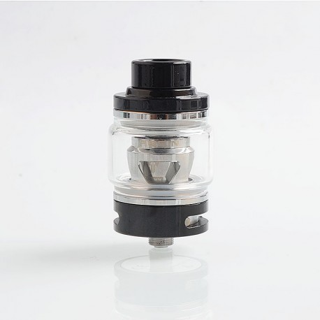 Authentic Tesla Resin Sub Ohm Tank Clearomizer - Black, Resin + Brass, 6ml, 0.18 Ohm, 25.5mm Diameter