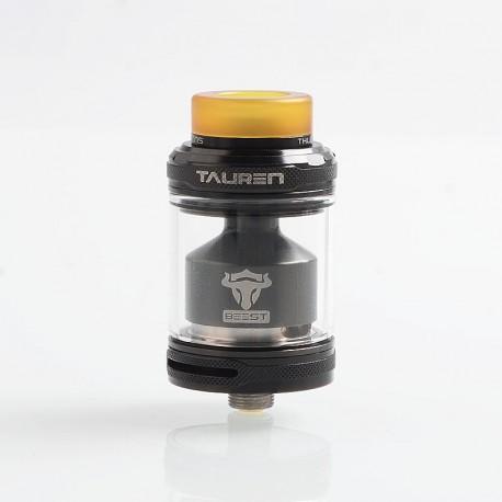 Authentic ThunderHead Creations THC Tauren Honeycomb RTA Rebuildable Tank Atomizer - Black, 4.5ml, 24mm Diameter