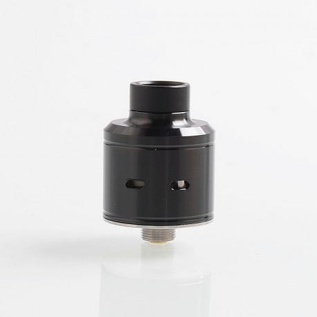 Citadel Style RDA Rebuildable Dripping Atomizer w/ BF Pin - Black, Stainless Steel, 22mm Diameter