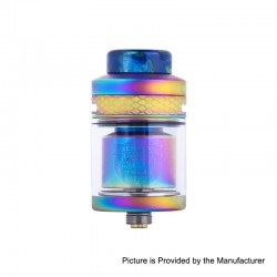 Authentic Wotofo Serpent Elevate RTA Rebuildable Tank Atomizer - Rainbow, Stainless Steel, 3.5ml, 24mm Diameter