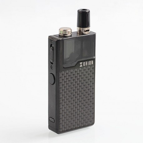 Authentic Lost Vape Orion DNA GO 40W 950mAh All-in-one Starter Kit - Black Textured Carbon Fiber, 2ml
