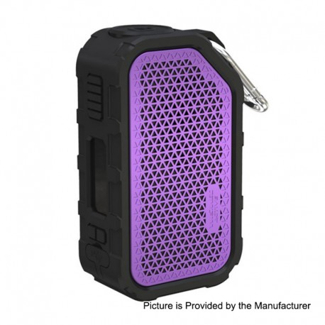 Authentic Wismec Active 2100mAh 80W TC VW Variable Wattage Box Mod - Purple, 1~80W