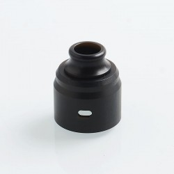 ShenRay Replacement Top Cap + 510 Drip Tip for Wave Style BF RDA - Black, POM