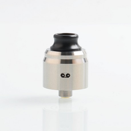 ShenRay Typhoon BTD Wave Style RDA Rebuildable Dripping Atomizer w/ BF Pin - Silver, 316 Stainless Steel, 22mm Diameter