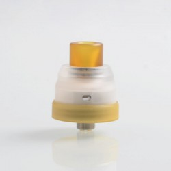 Authentic Vapjoy Hayabusa RDA Rebuildable Dripping Atomizer w/ BF Pin - Clear, PMMA + 316 Stainless Steel, 22mm Diameter