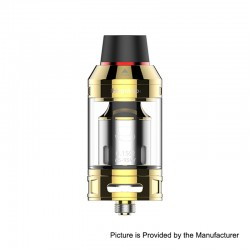 Authentic Hugsvape Magician Mesh Sub Ohm Tank Clearomizer - Gold, Stainless Steel, 5ml, 24mm Diameter