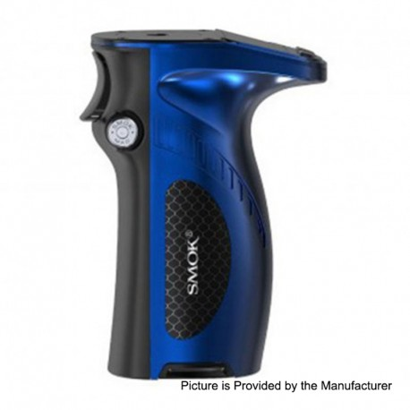Authentic SMOKTech SMOK Mag Grip 100W TC VW Variable Wattage Mod - Prism Blue Black, 1~100W, 1 x 18650 / 20700 / 21700