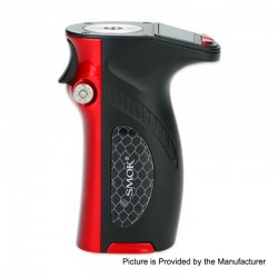 Authentic SMOKTech SMOK Mag Grip 100W TC VW Variable Wattage Mod - Black Red, 1~100W, 1 x 18650 / 20700 / 21700