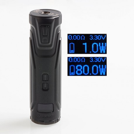 Authentic Joyetech ULTEX T80 80W VW Varuable Wattage Tube Mod - Matte Black, 1~80W, 1 x 18650