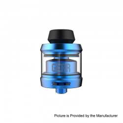 Authentic OFRF Gear RTA Rebuildable Tank Atomizer - Blue, Stainless Steel, 3.5ml, 24mm Diameter