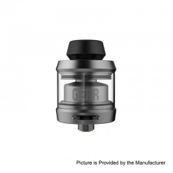 Authentic OFRF Gear RTA Rebuildable Tank Atomizer - Gun Metal, Stainless Steel, 3.5ml, 24mm Diameter