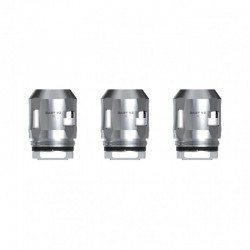 Authentic SMOKTech SMOK Replacement A2 Coil Head for TFV8 Baby V2 Sub Ohm Tank - Silver, 0.2ohm (70~120W) (3 PCS)