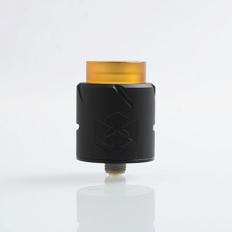 Authentic Vandy Vape Paradox RDA Rebuildable Dripping Atomizer w/ BF Pin - Matte Black, Stainless Steel, 24mm Diameter