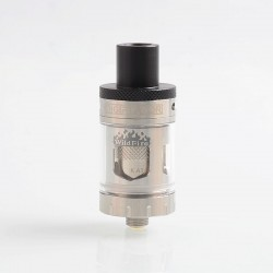 Authentic Digiflavor Wildfire Flavor Sub Ohm Tank Atomizer - Silver, Stainless Steel, 3ml, 0.5 Ohm, 22mm Diameter