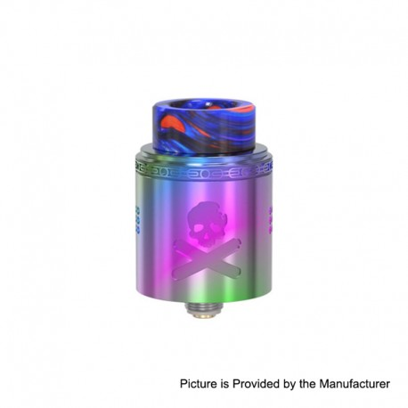 Authentic Vandy Vape Bonza V1.5 RDA Rebuildable Dripping Atomizer w/ BF Pin - Rainbow, 24mm Diameter