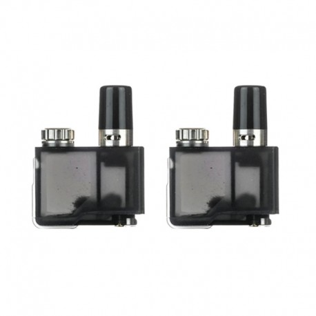 Authentic Lost Vape Replacement Pod Cartridge for Orion DNA GO Starter Kit - 2ml, 0.25 Ohm (2 PCS)