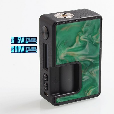 Authentic Vandy Vape Pulse X 90W TC VW Variable Wattage Squonk Box Mod - Kill Devil Hills, 5~90W, 1 x 18650 / 20700 / 21700