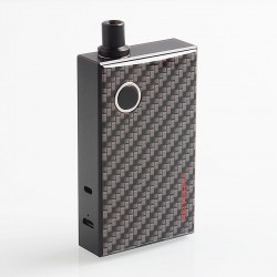 Authentic Artery PAL 1200mAh AIO All-in-One Starter Kit - Carbon Fiber, Aluminum, 3ml, 0.7 Ohm / 1.8 Ohm