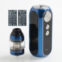 Authentic OBS Cube 80W 3000mAh VW Variable Wattage Starter Kit - Blue, Zinc Alloy + Stainless Steel, 4ml, 0.2 Ohm