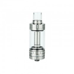 Authentic Ehpro eTank S2 Sub Ohm Tank Clearomizer - Silver, Stainless Steel, 5ml, 0.2 Ohm, 22mm Diameter