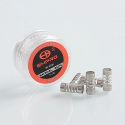 Authentic Ehpro Core for Lock BF RDA Rebuildable Dripping Atomizer - 316 Stainless Steel, 0.2 Ohm (30~50W) (5 PCS)