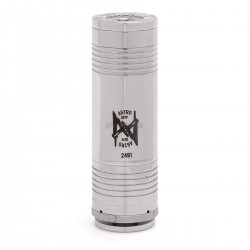 Astro Style Telescopic E-cigarette Mechanical Mod - Silver, Stainless Steel
