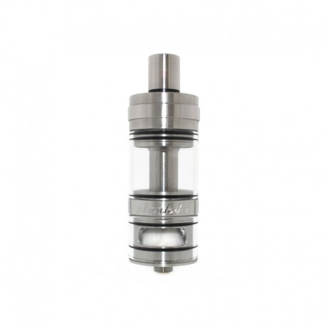 Authentic Ehpro eTank F1 RDTA Rebuildable Dripping Tank Atomizer - Silver, Stainless Steel + Glass, 4ml, 24mm diameter