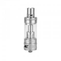 Authentic Vapeston Maganus Ni DVC Sub Ohm Tank Clearomizer - Silver, Stainless Steel + Glass, 4.5ml, 0.15 ohm, 22mm Diameter