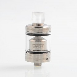 Authentic Ehpro True RTA Rebuildable Tank Atomizer - Silver, Stainless Steel, 2ml, 22mm Diameter