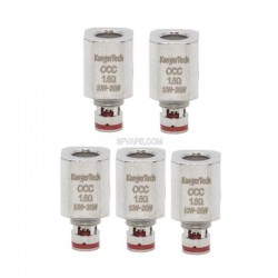 Authentic Kanger Vertical OCC Coil Heads for Subtank Plus / Mini / Nano - 1.5 Ohm (10~26W) (5 PCS)