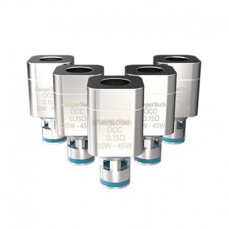 Authentic Kanger Subtank Nickel Ni200 OCC Temperature Sensing Coils - 0.15 Ohm (20~45W) (5 PCS)
