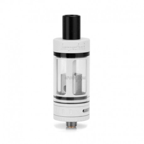 Authentic Kanger Subtank Mini Clearomizer - White, Stainless Steel, 4.5ml, 0.5 ohm, 22mm Diameter
