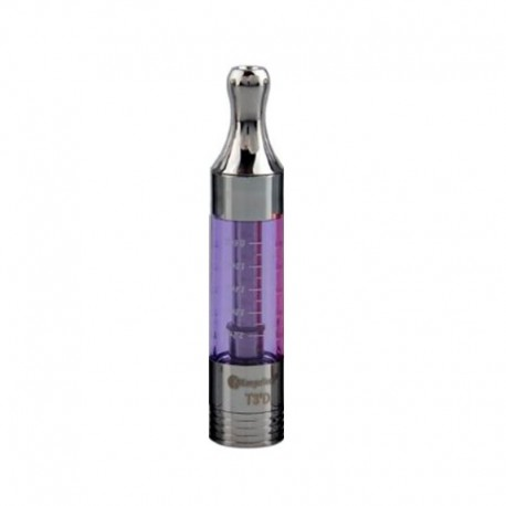 Authentic Kanger T3D eGo Dual Bottom Coil Tank Clearomizer - Purple, 2.5ml, 1.5 Ohm, 14mm Diameter
