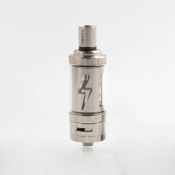Authentic Ehpro Eciggity Morph Tank Clearomizer - Silver, Stainless Steel + Quartz Glass, 22mm Diameter