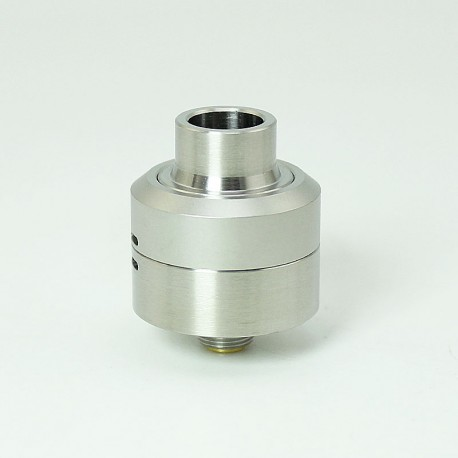 SXK Core Style RDA Rebuildable Dripping Atomizer w/ BF Pin - Silver, 316 Stainless Steel, 22mm Diameter