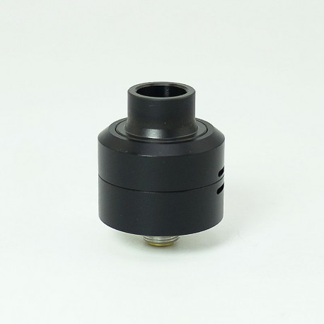 SXK Core Style RDA Rebuildable Dripping Atomizer w/ BF Pin - Black, 316 Stainless Steel, 22mm Diameter