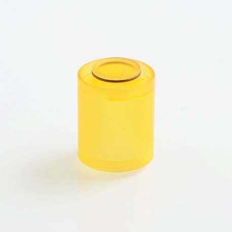 YFTK Replacement Tank Tube for Doggystyle V2 2K18 Style RTA - Yellow, PC, 3.5ml