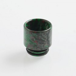 810 Replacement Drip Tip for TFV8 / TFV12 Tank / Goon / Kennedy / Reload RDA - Green, Resin, 17mm