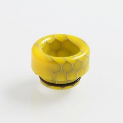 810 Replacement Drip Tip for TFV8 / TFV12 Tank / Goon / Kennedy / Reload RDA - Yellow, Resin, 12mm