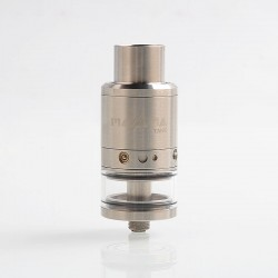 Authentic Paradigm Modz Magma Tank RDTA Rebuildable Dripping Tank Atomizer - Silver, Stainless Steel, 5ml, 24mm Diameter