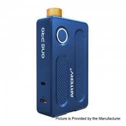 Authentic Artery PAL One Pro 1200mAh All in One Starter Kit - Blue, Aluminum, 0.7 / 1.2 Ohm, 2ml