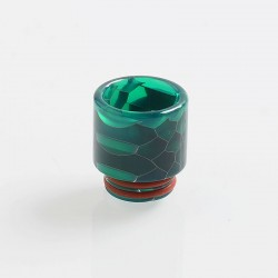 810 Replacement Drip Tip for TFV8 / TFV12 Tank / Goon / Kennedy / Reload RDA - Green, Resin, 18mm