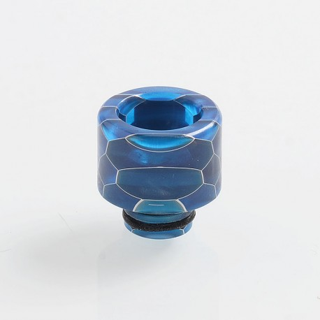 510 Replacement Drip Tip for RDA / RTA / Sub Ohm Tank Atomizer - Blue, Resin, 15mm