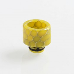 510 Replacement Drip Tip for RDA / RTA / Sub Ohm Tank Atomizer - Yellow, Resin, 15mm