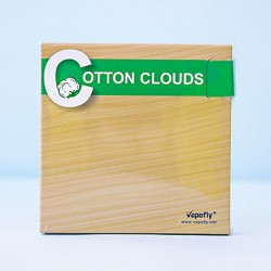 Authentic Vapefly Cotton Clouds Economical Durable Healthy Wick - 5 Feet