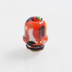 510 Replacement Drip Tip for RDA / RTA / Sub Ohm Tank Atomizer - Red, Resin, 15mm