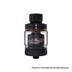 Authentic Oumier Bombus RTA Rebuildable Tank Atomizer - Black, Stainless Steel, 2ml, 24.5mm Diameter