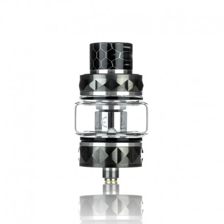 Authentic Vsticking Vmesh Sub Ohm Tank Clearomizer - Gun Metal, Stainless Steel, 4ml, 27mm Diameter